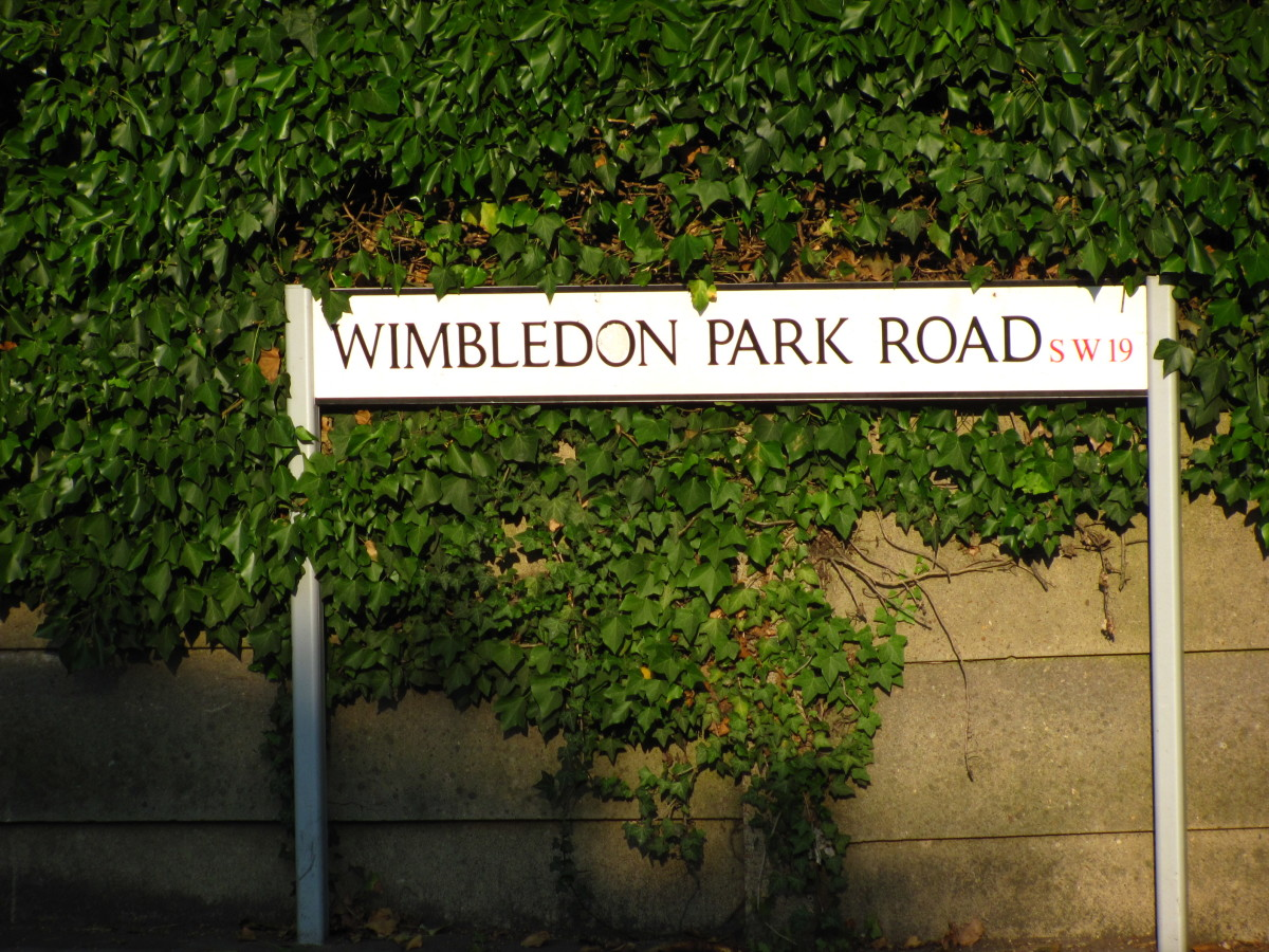 Wimbledon SW19, the home of tennis and hearing tennis jokes and one liners.