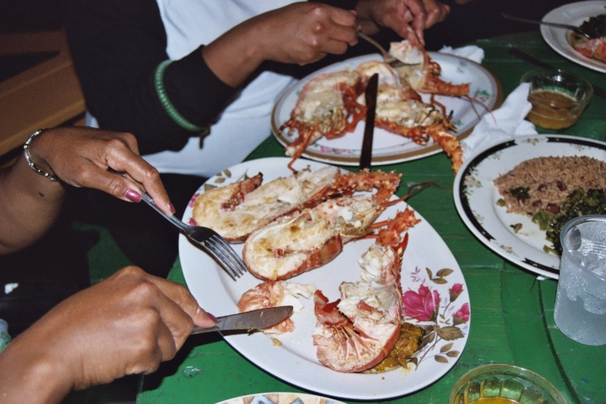 "The world famous grilled lobster at ""3 Dives Restaurant"" in Negril will make your mouth water before  you take your first bite."