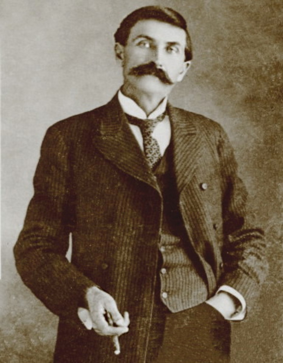 Sheriff Pat Garrett who is supposed to have killed Billy the Kid. But their has always been a serious debate about Pat Garrett killing Billy the Kid.