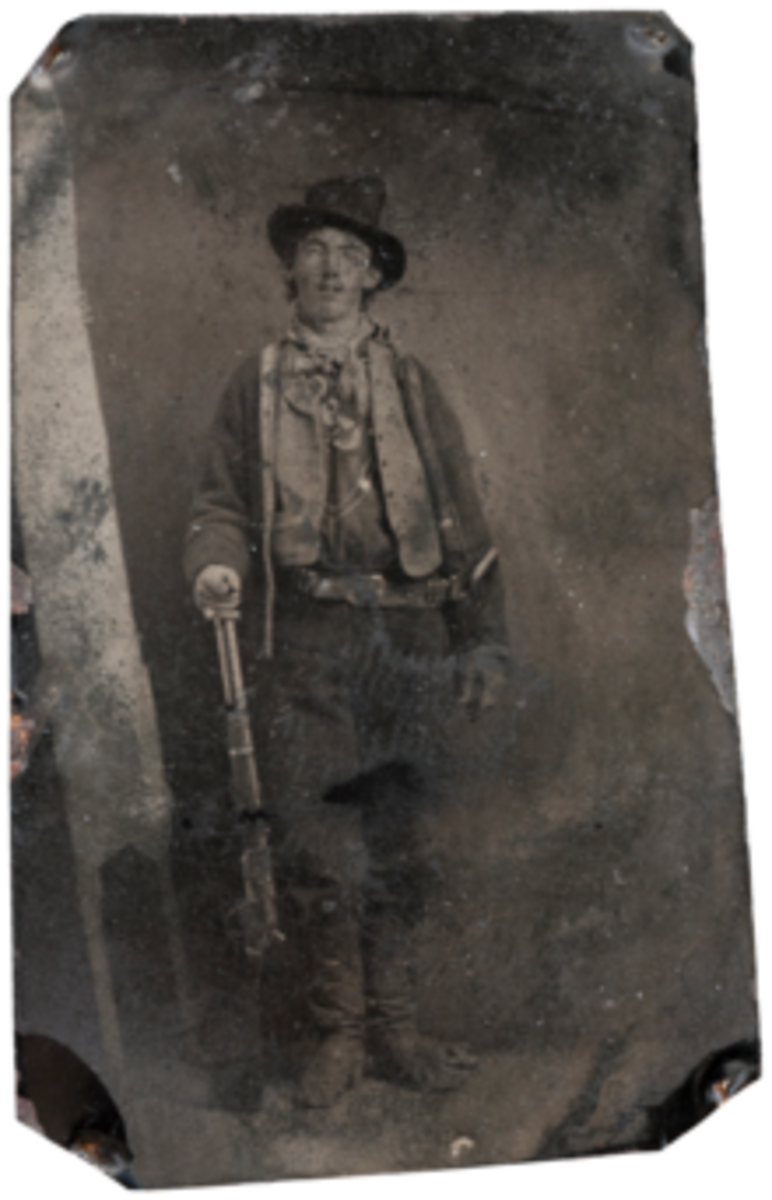 William H. Bonney Better Known As Billy The Kid