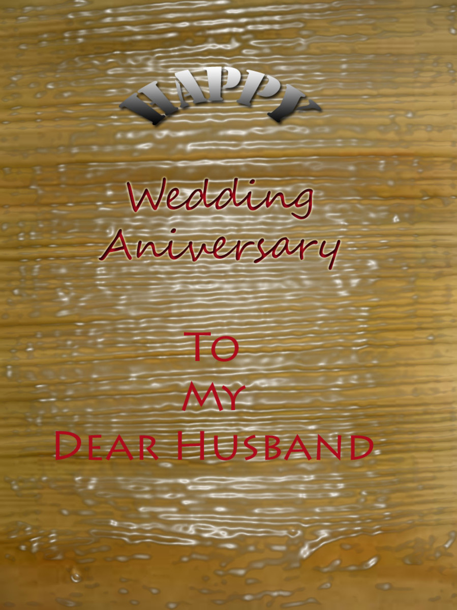 Wedding Anniversary Love Letters & Messages for Husband