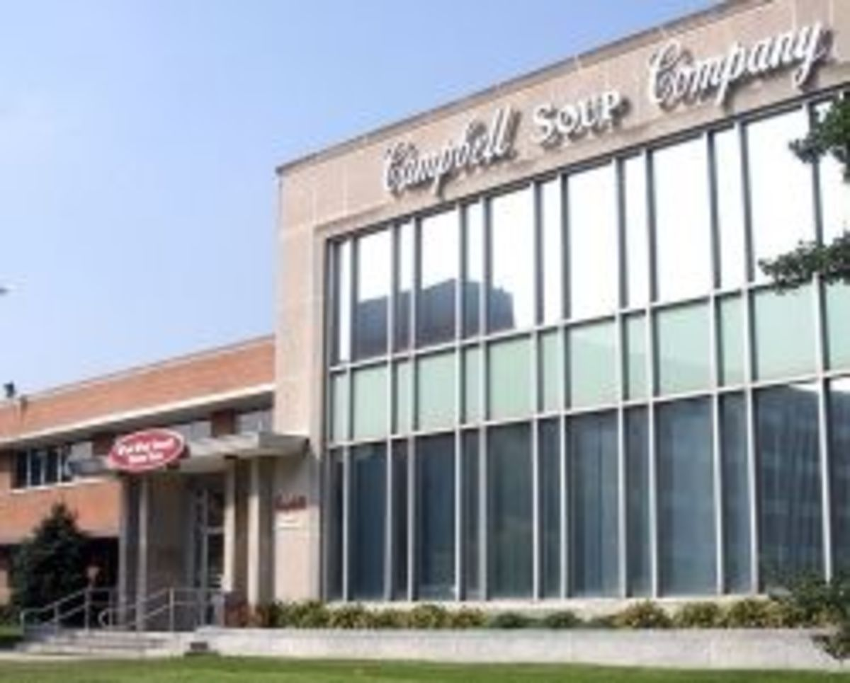 Photo Campbells HQ in Camden NJ by Wikipedia