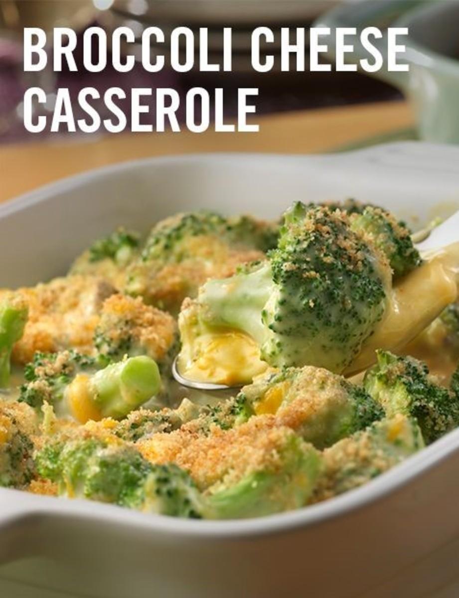 Broccoli and Cauliflower Cheese Casserole