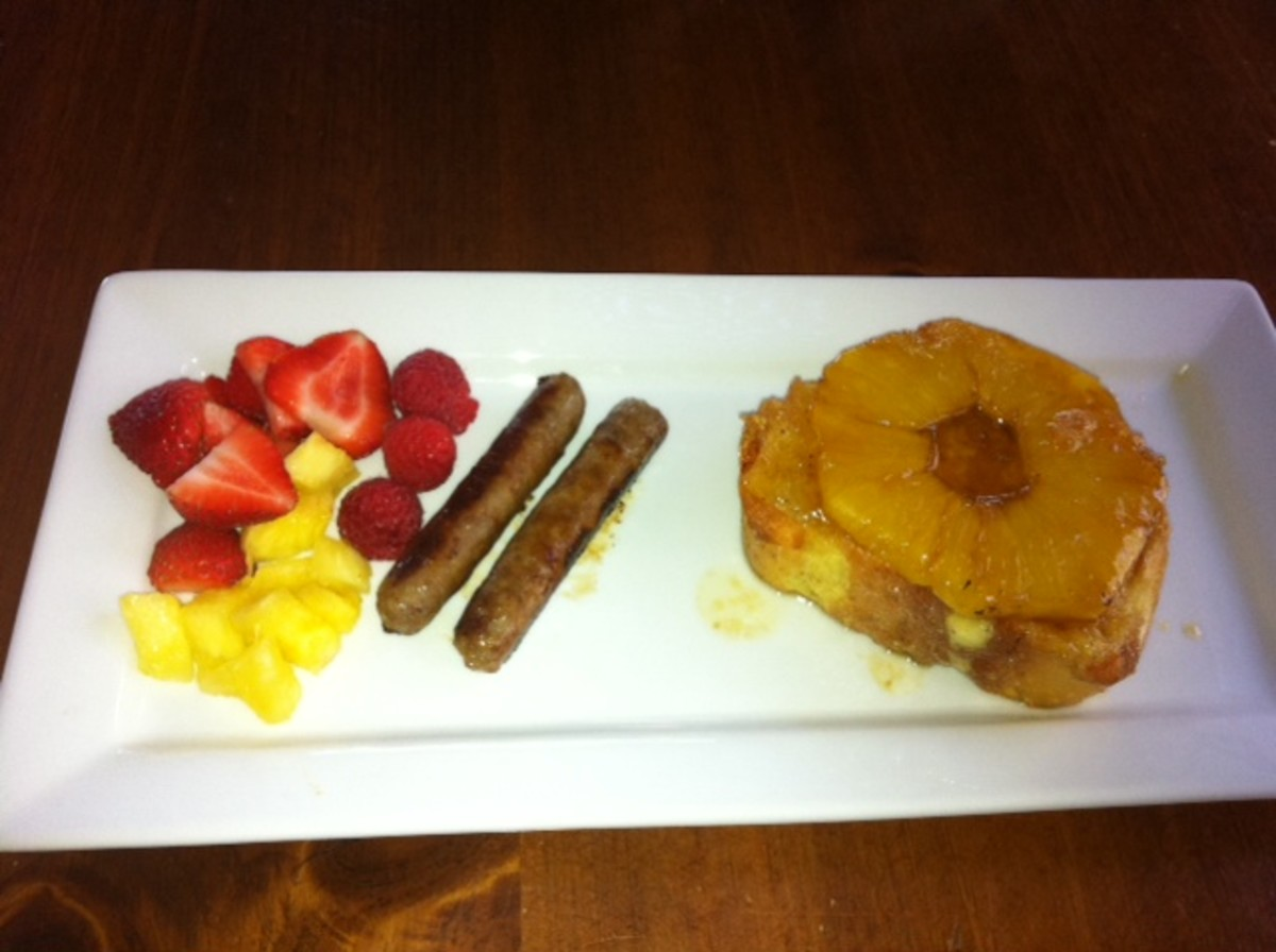 Pineapple Upside Down French Toast- A Make Ahead Brunch Recipe