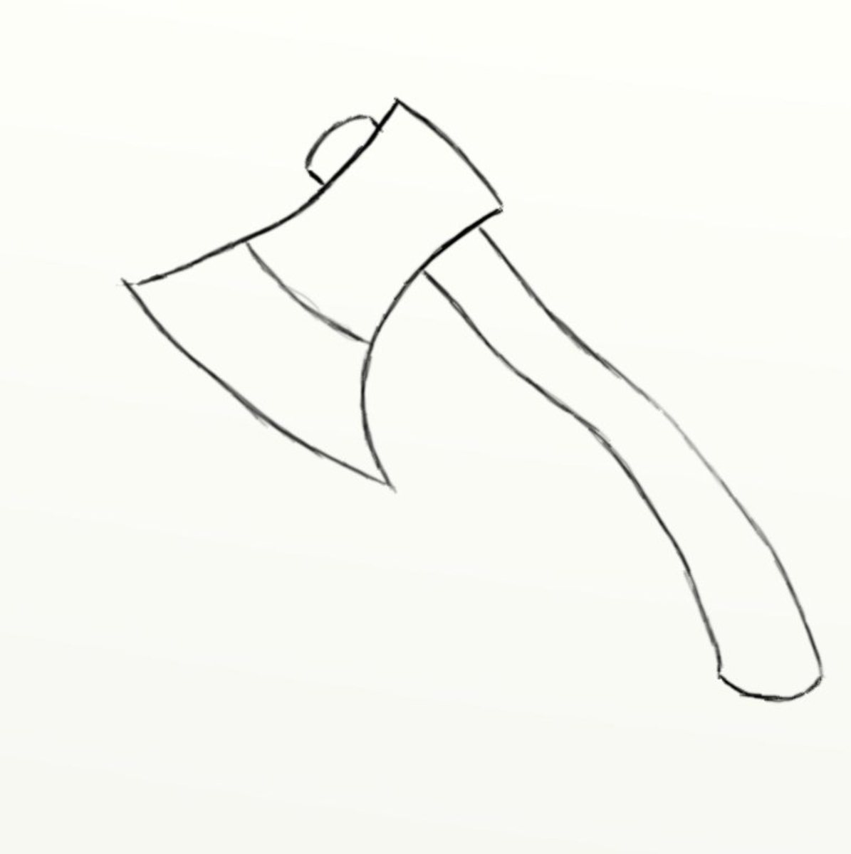 how-to-draw-a-sharp-axe