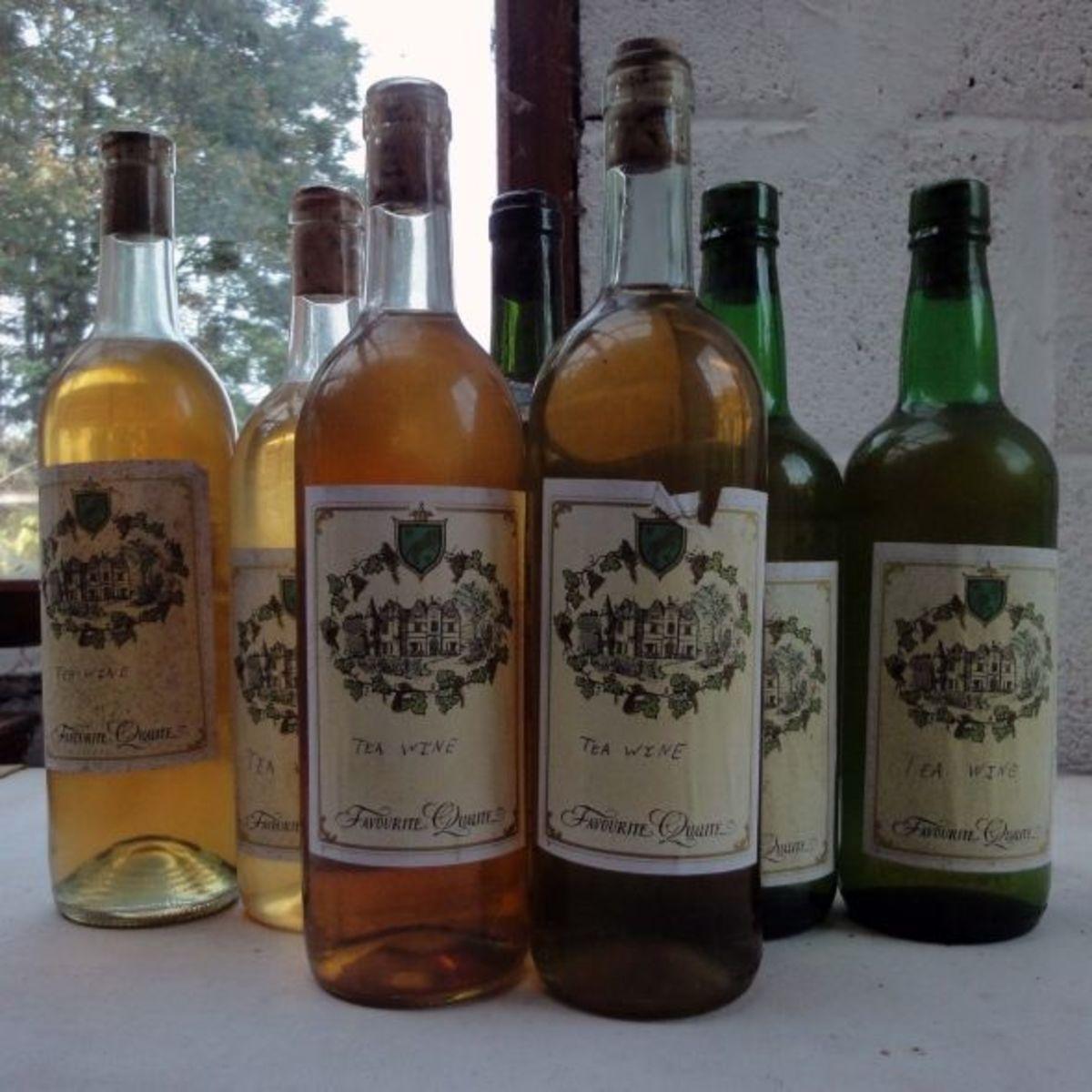 Fortified Tea Wine Recipe