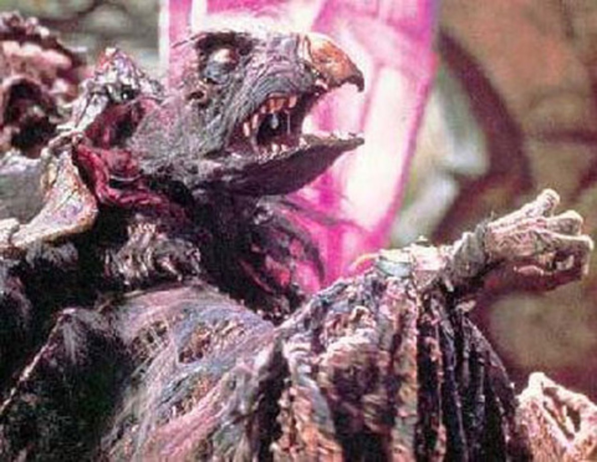 The skeksis may have been the world's first evil muppets.
