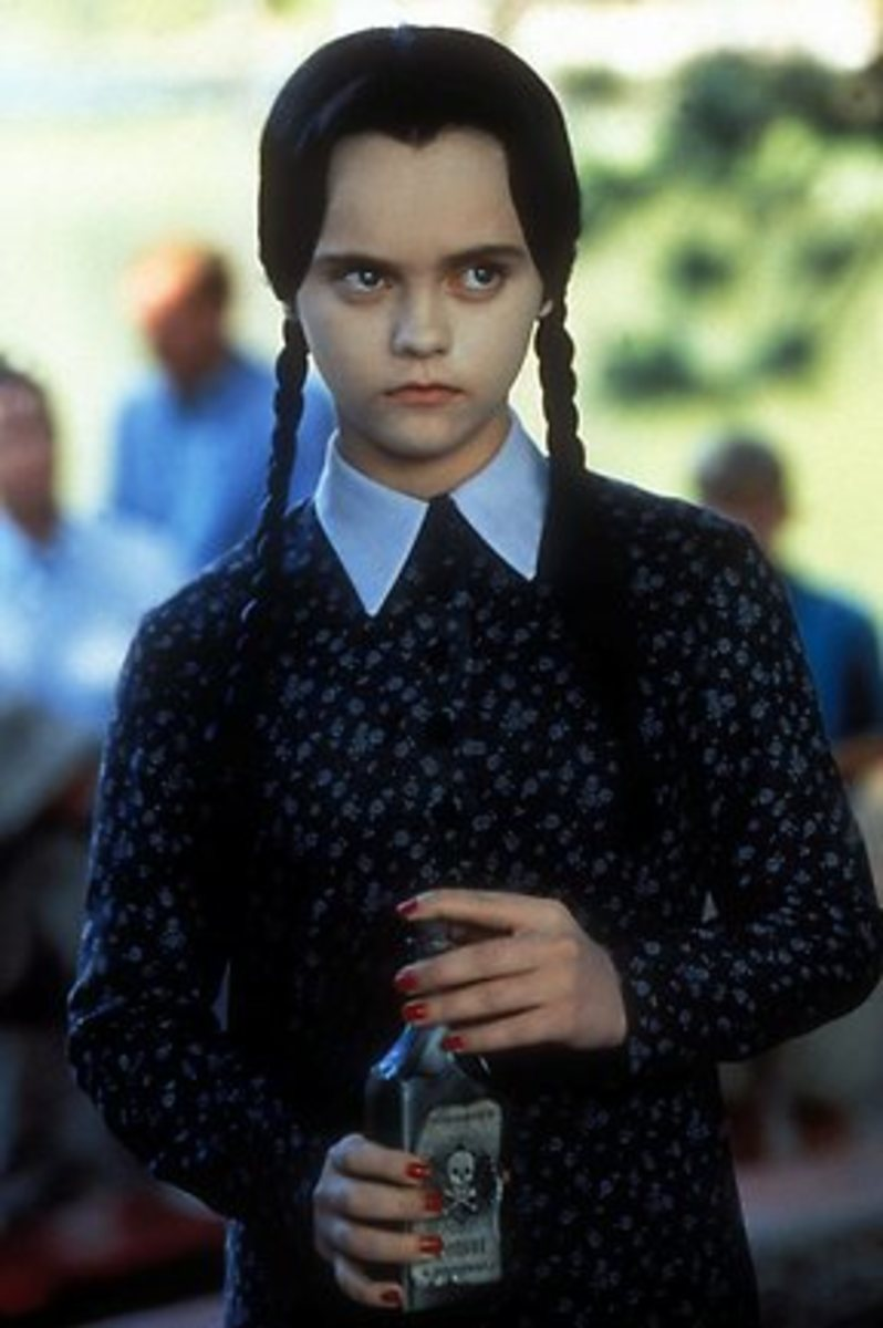 Nina Ricci as Wednesday Adams from the The Adams Family