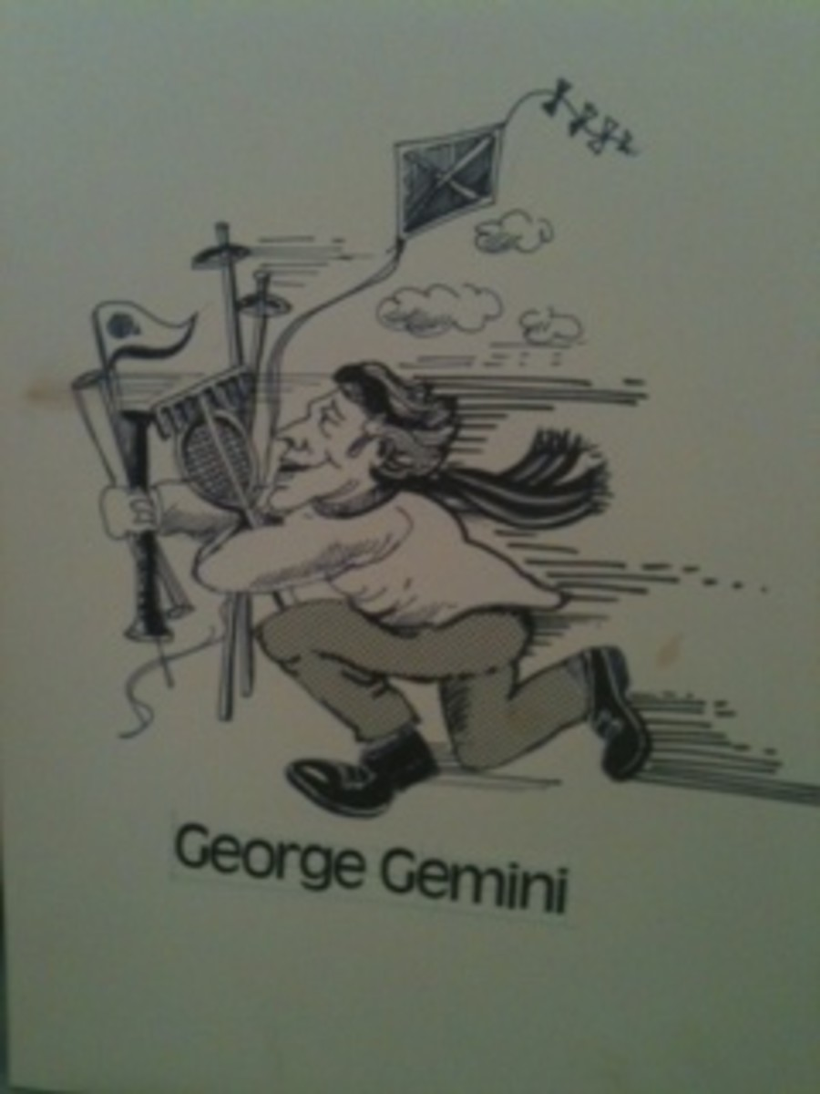Meet George Gemini with his many pursuits
