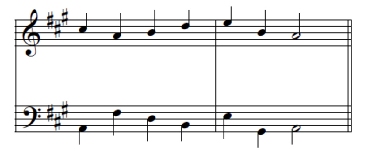 writing a melody to a chord progression