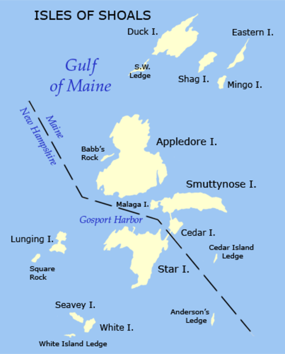 Isles of Shoals Map