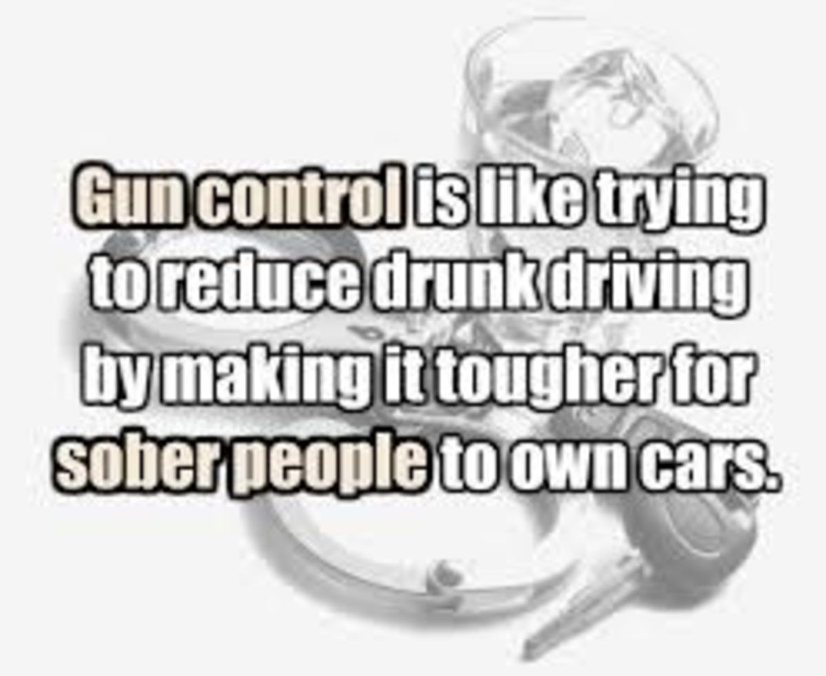 "gun control why or why not The two primary prongs of the ""gun control doesn't work"" argument are that: 1)  gun control does not reduce gun deaths largely because 2) it."