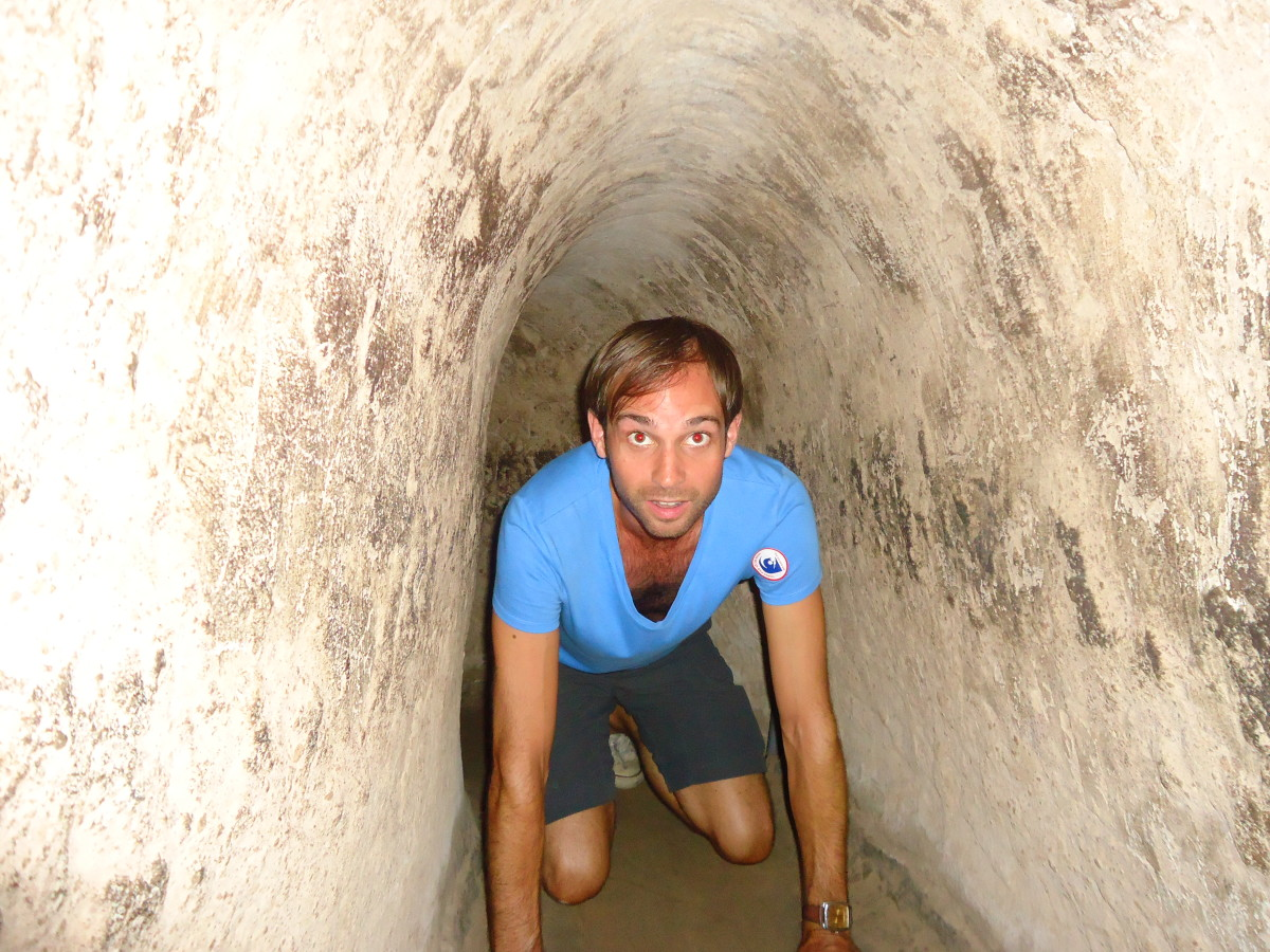 The Cu Chi Tunnels Outside Ho Chi Minh