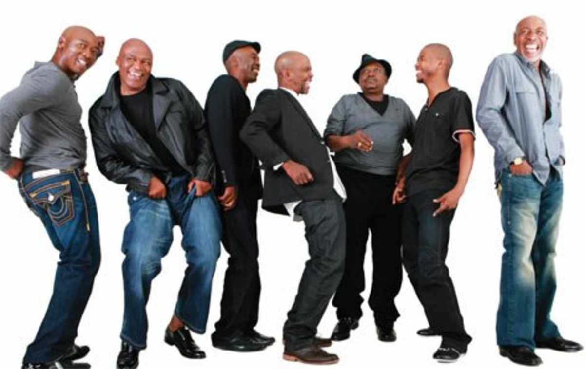 "The Soulful and African Funky group' personnel of ""STIMELA"" in a Photo-shoot.. They are a stupendous group"