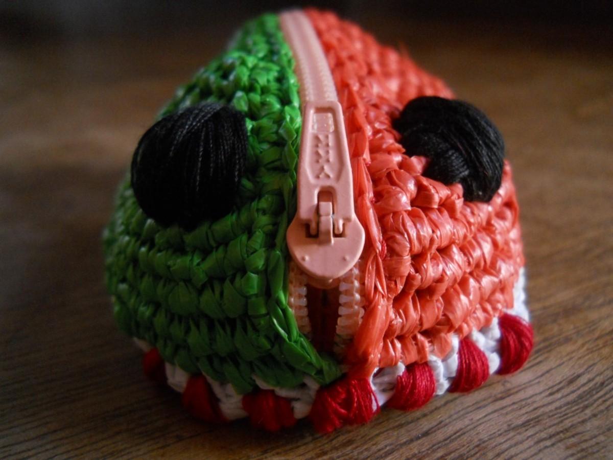 Crochet BATRI Amigurumi Coin Purse Free Pattern