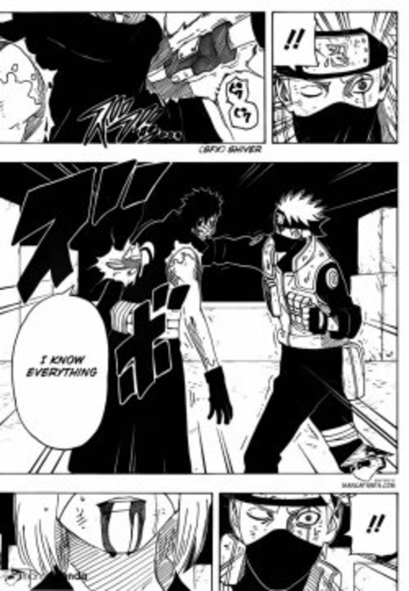 Why did Kakashi kill Rin? [revealed] with NEW details from Manga 675 !