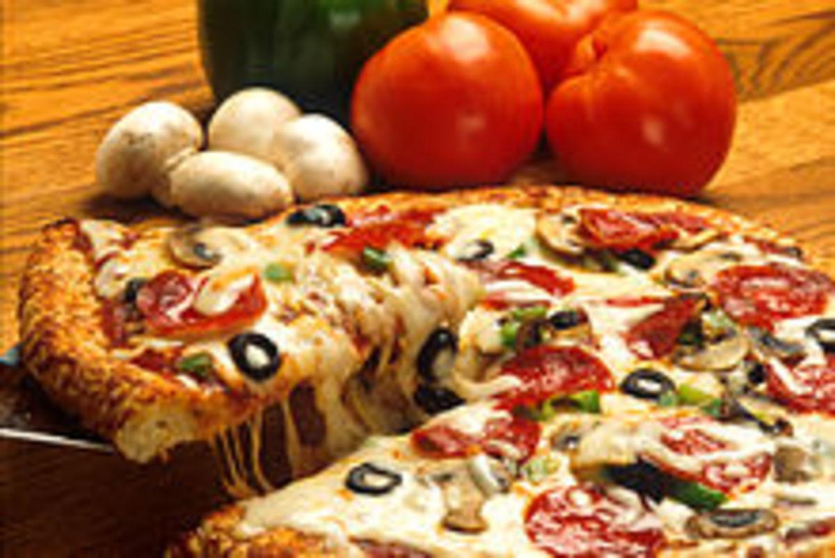 Pizza, an italian speciality