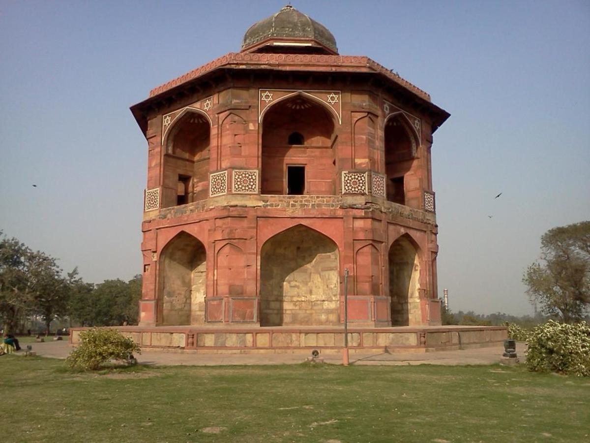 Sher Mandal inside Old Fort, Delhi