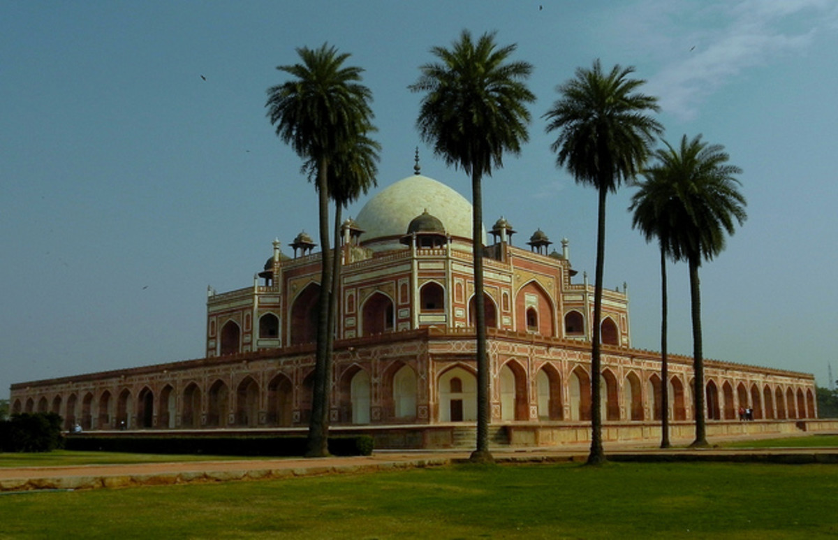 Humayun's Tomb in Delhi is a UNESCO World Heritage Site