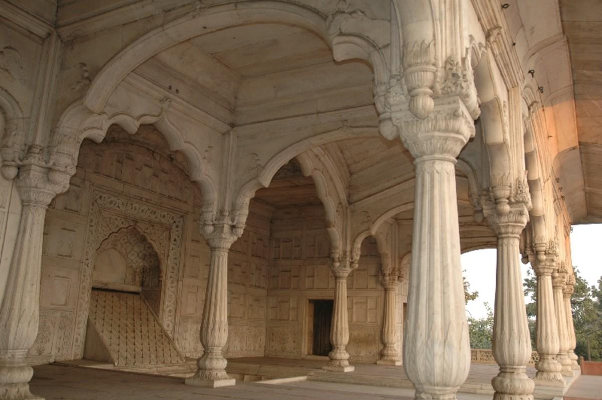 Diwan-i-Khas, Red Fort, Delhi