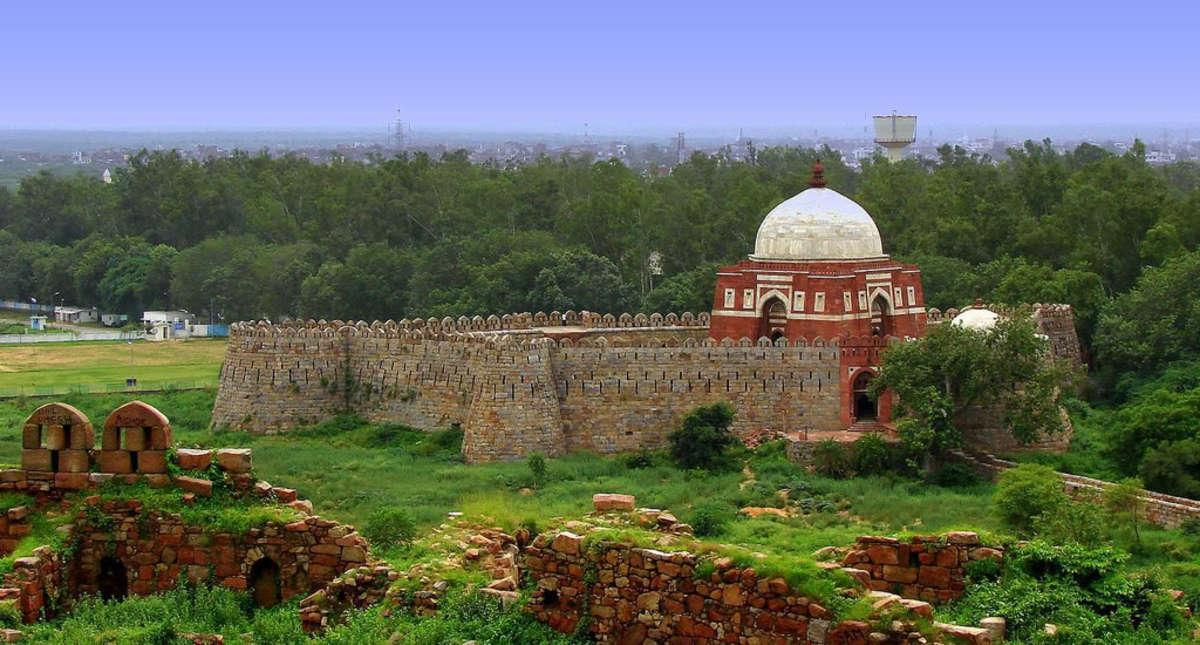 Tomb of Ghiyas-ud-din Tughlaq
