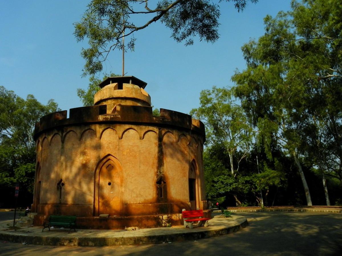 Flagstaff Tower, North Delhi Ridge Heritage Walk