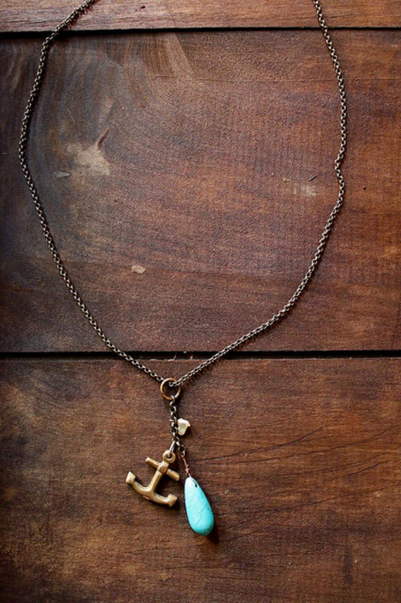 Nautical accessories are perfect for spring and summer.