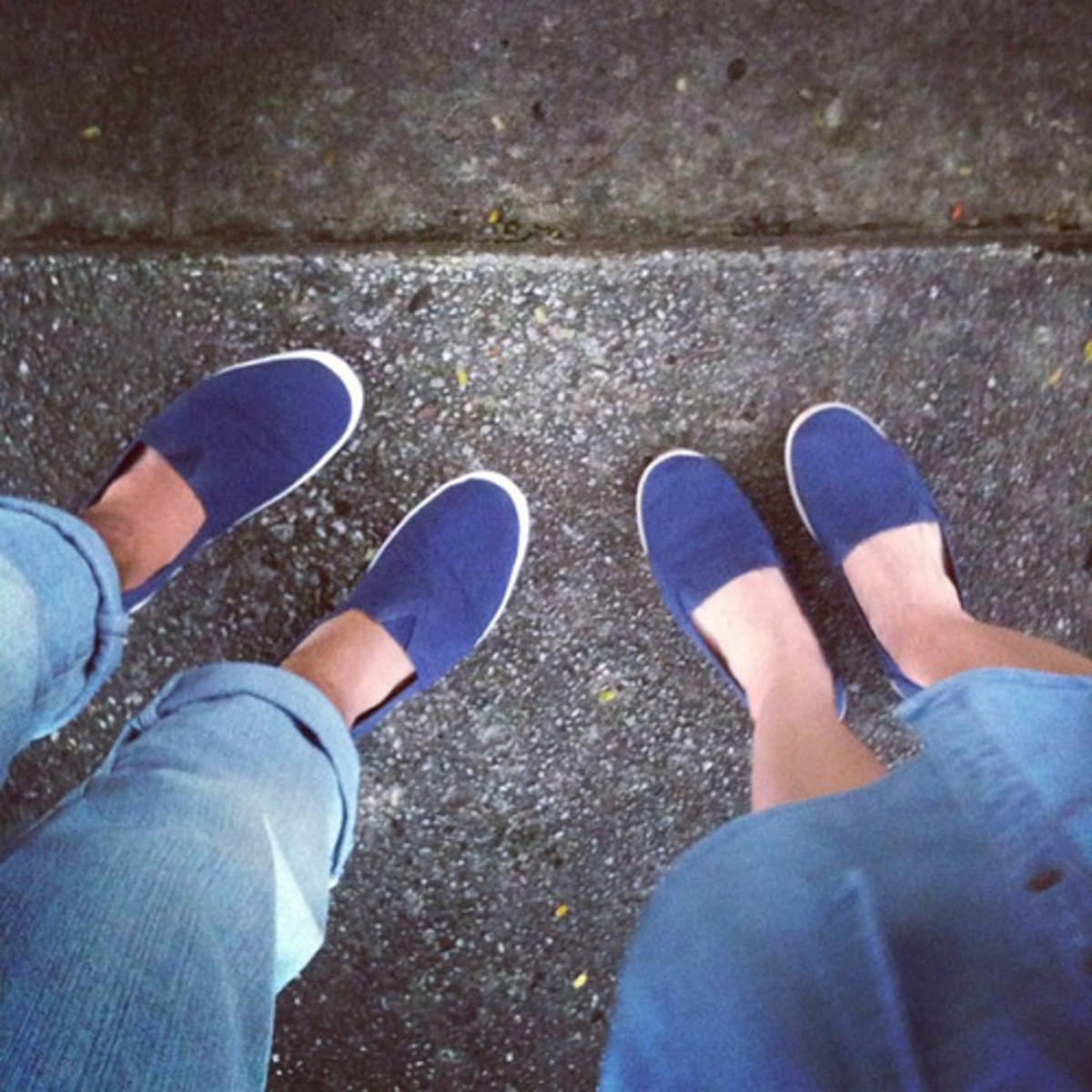 Flats and boat shoes make the nautical trend both cute and comfy.