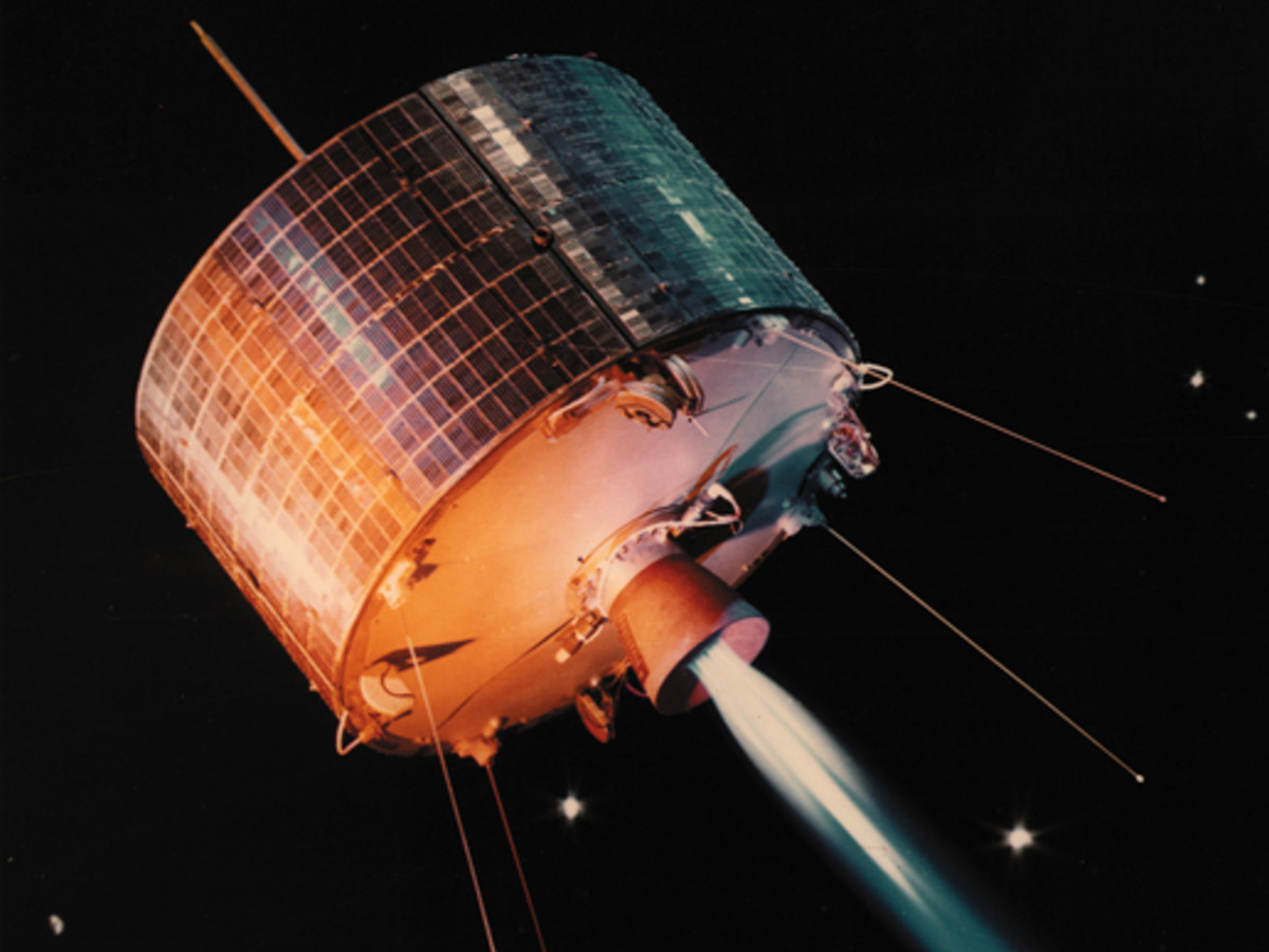 An artificial satellite