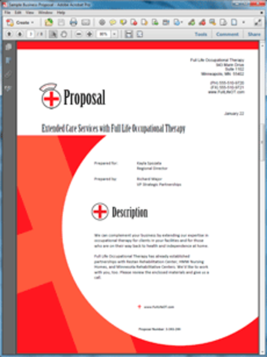 How To Write A Healthcare Or Medical Business Proposal  Hubpages