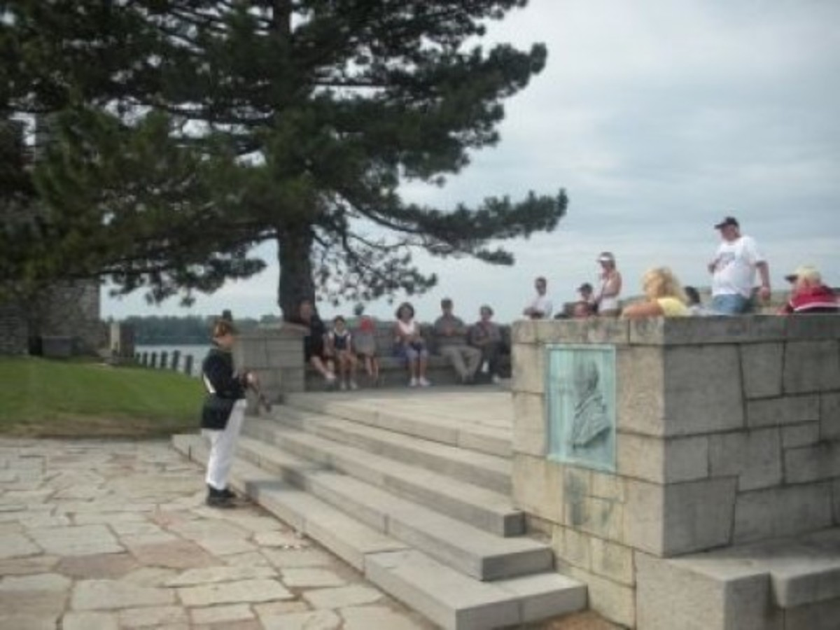 Fort Niagara Musket Demonstration