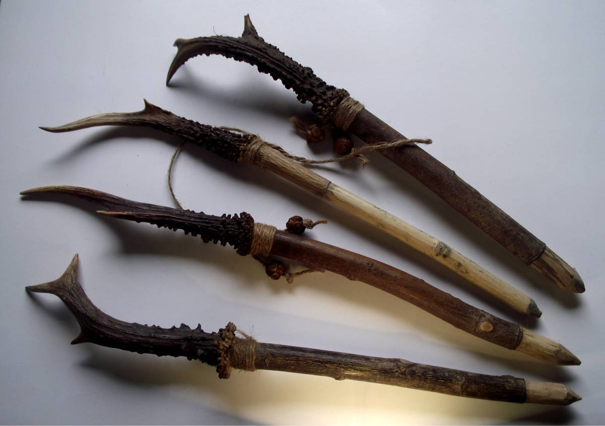 Wands are used by some people to direct energy during spell work.