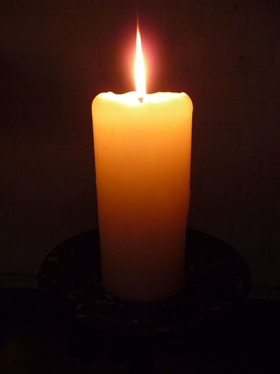 Candle magic is a commonly used form of sympathetic magic.