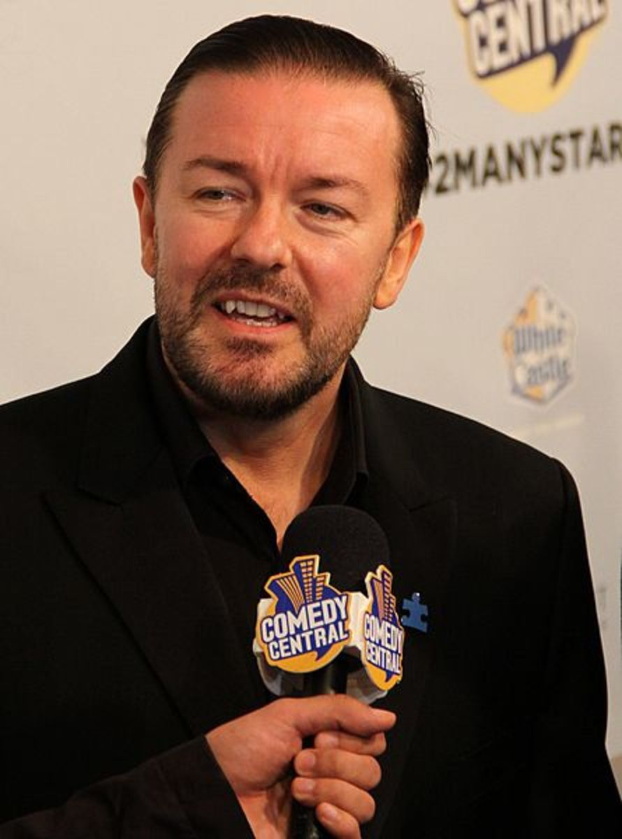 Ricky Gervais, star of The Office and Extras