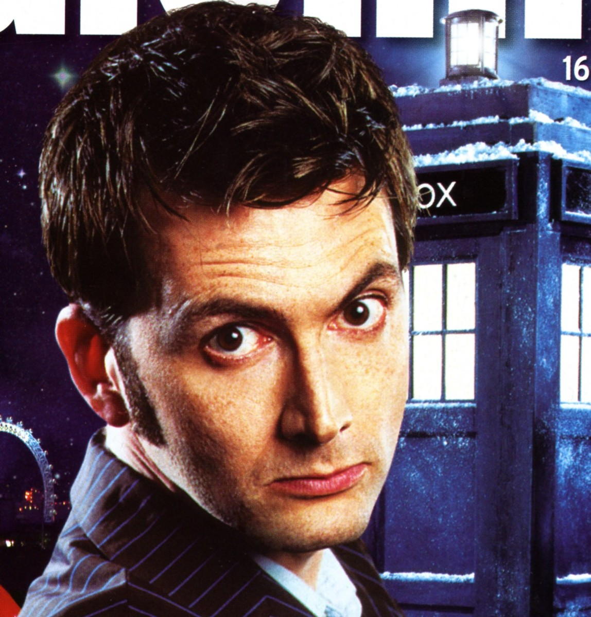 David Tennant - The best Dr Who ever?
