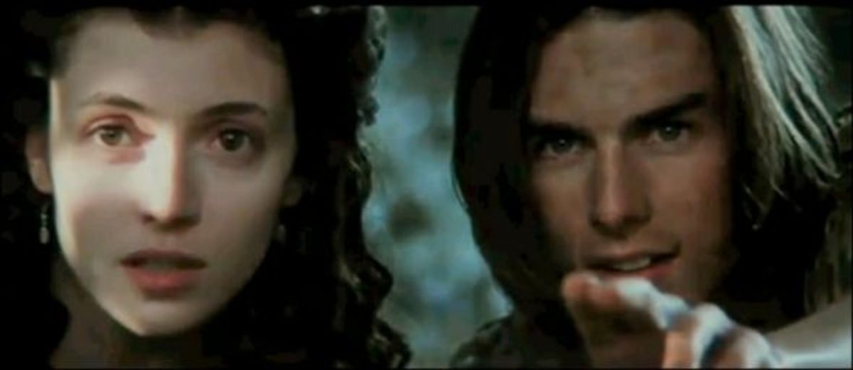 Tom Cruise and Mia Sara as Jack and Lily