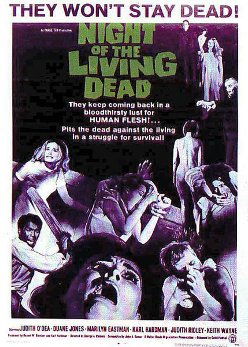 Original promotional poster for Night of the Living Dead