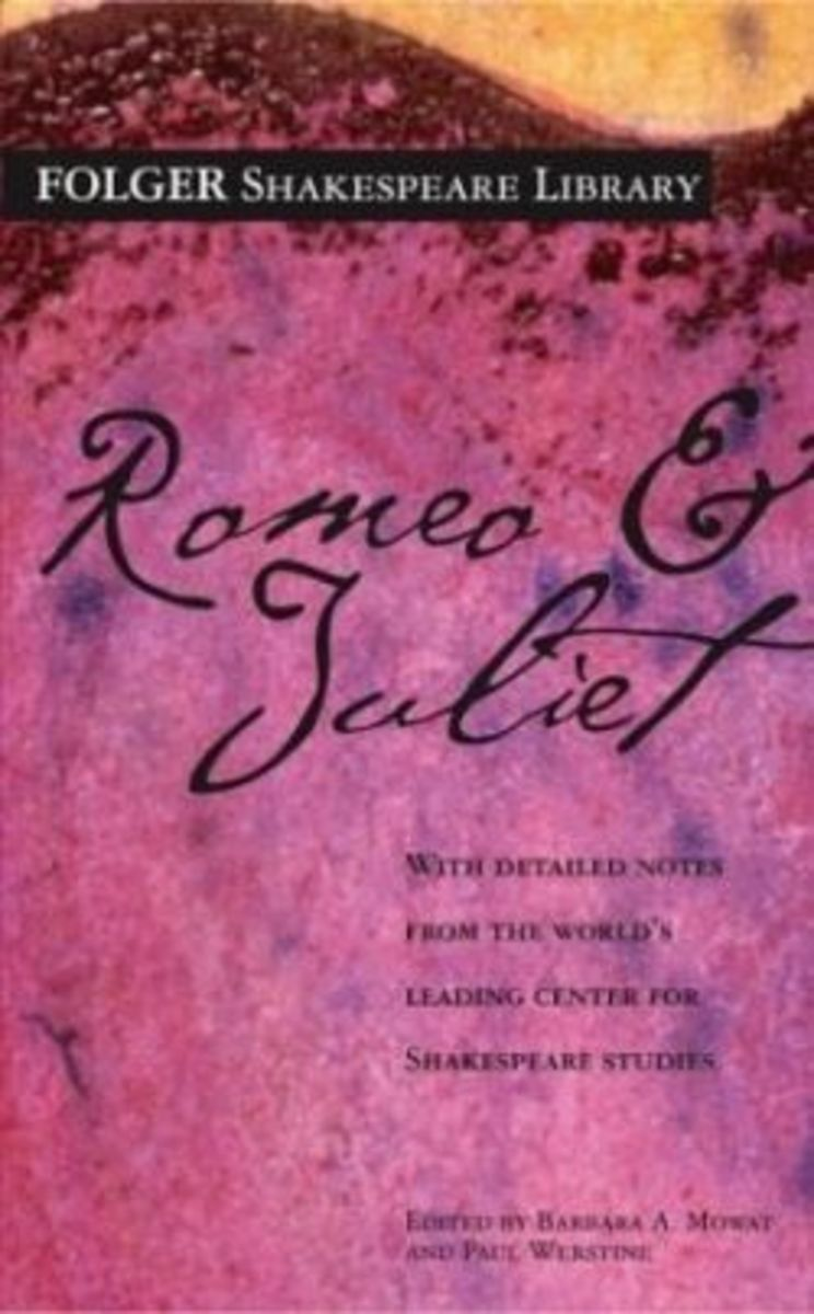 Explain 2 differences in Romeo+Juliet ( the movie ) and the play by William Shakespeare.