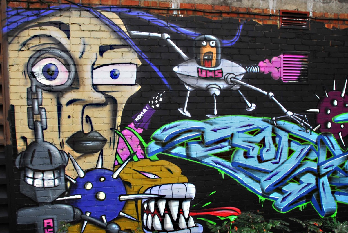 is-graffiti-art
