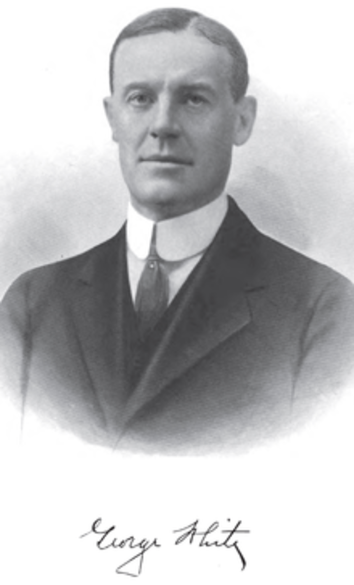 Gov. George White, 1934