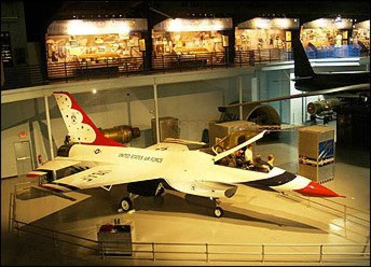 The F-16 Thunderbird Exhibit
