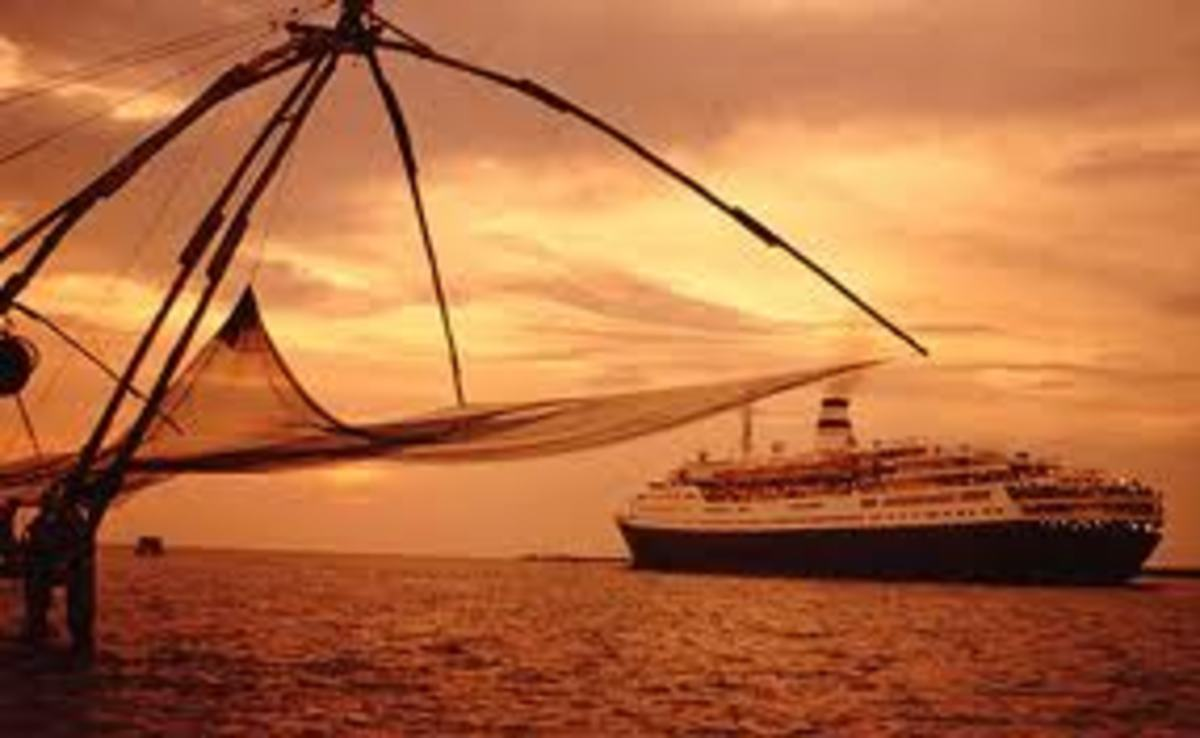 Chinese nets at Fort Kochi