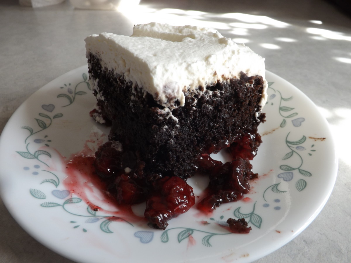 Quick & Easy Potluck Black Forest Cake