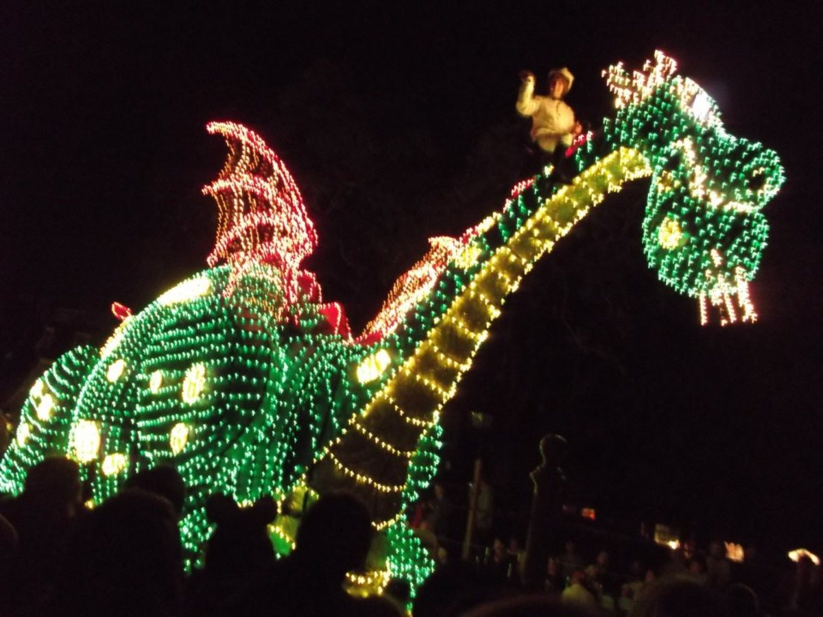 Watch the electric parade from your ECV.