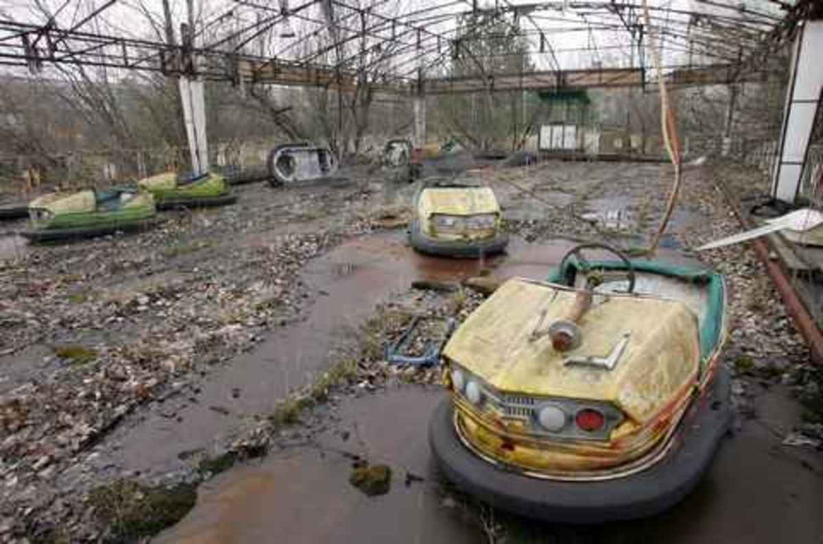 Abandoned fun fair Pripyat