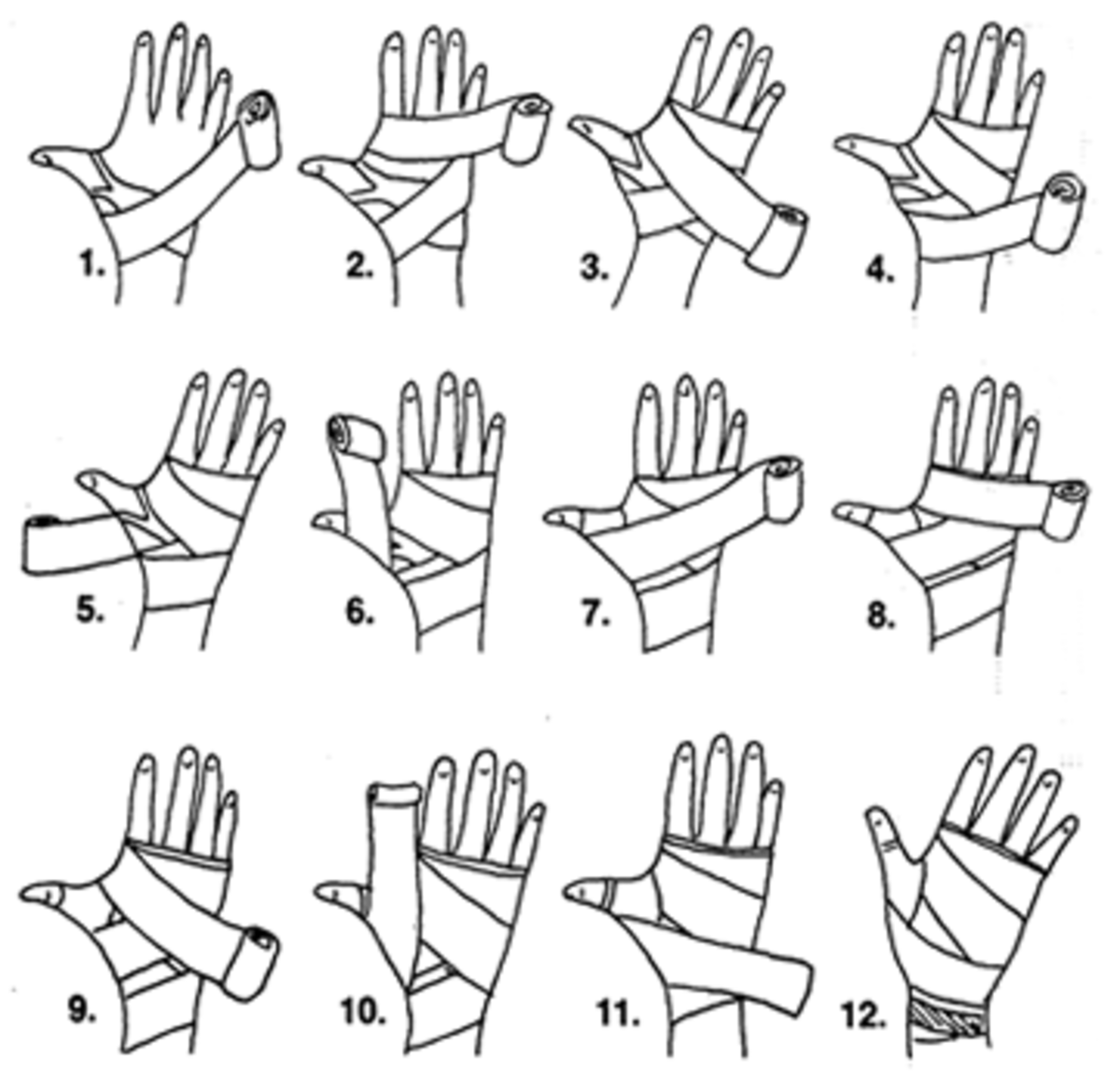 How to wrap up your hands. You should wrap your hands before using boxing gloves, both to protect your hands and to keep your gloves from getting stinky