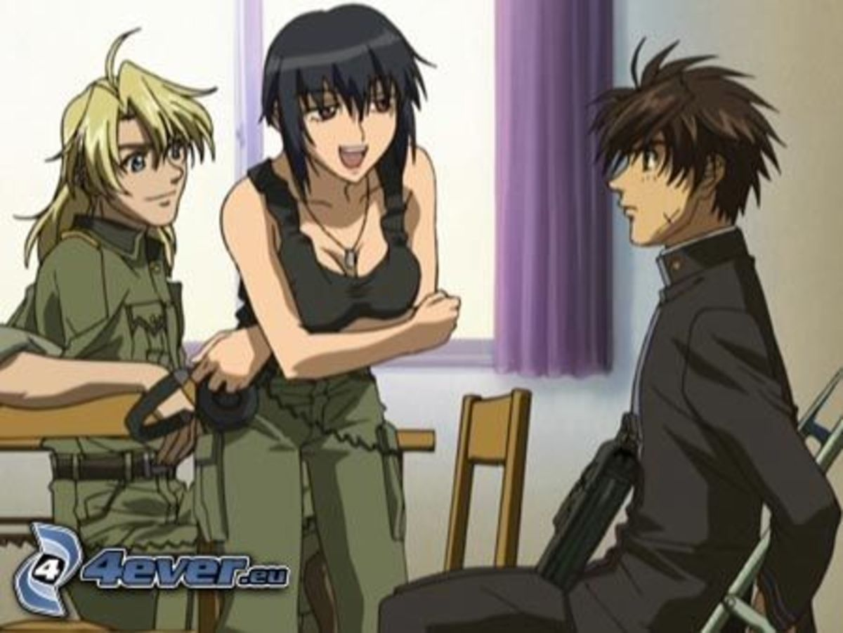Weber (left), Mao (center), Sagara (right)