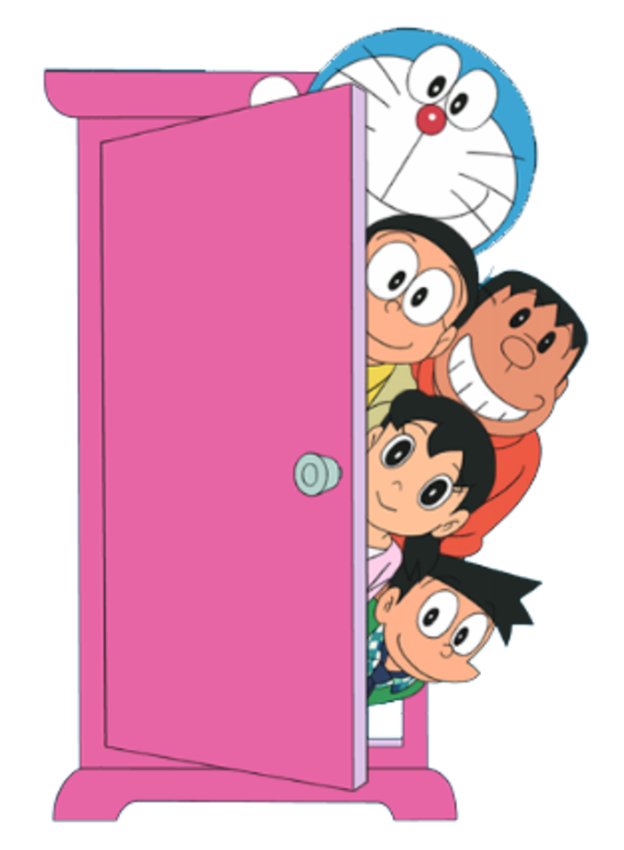 Dokodemo Door with Doramon characters