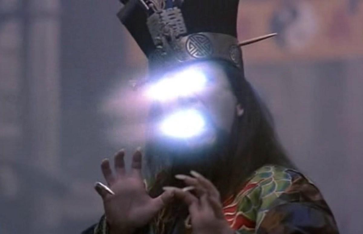 Lo Pan attacks with his magic