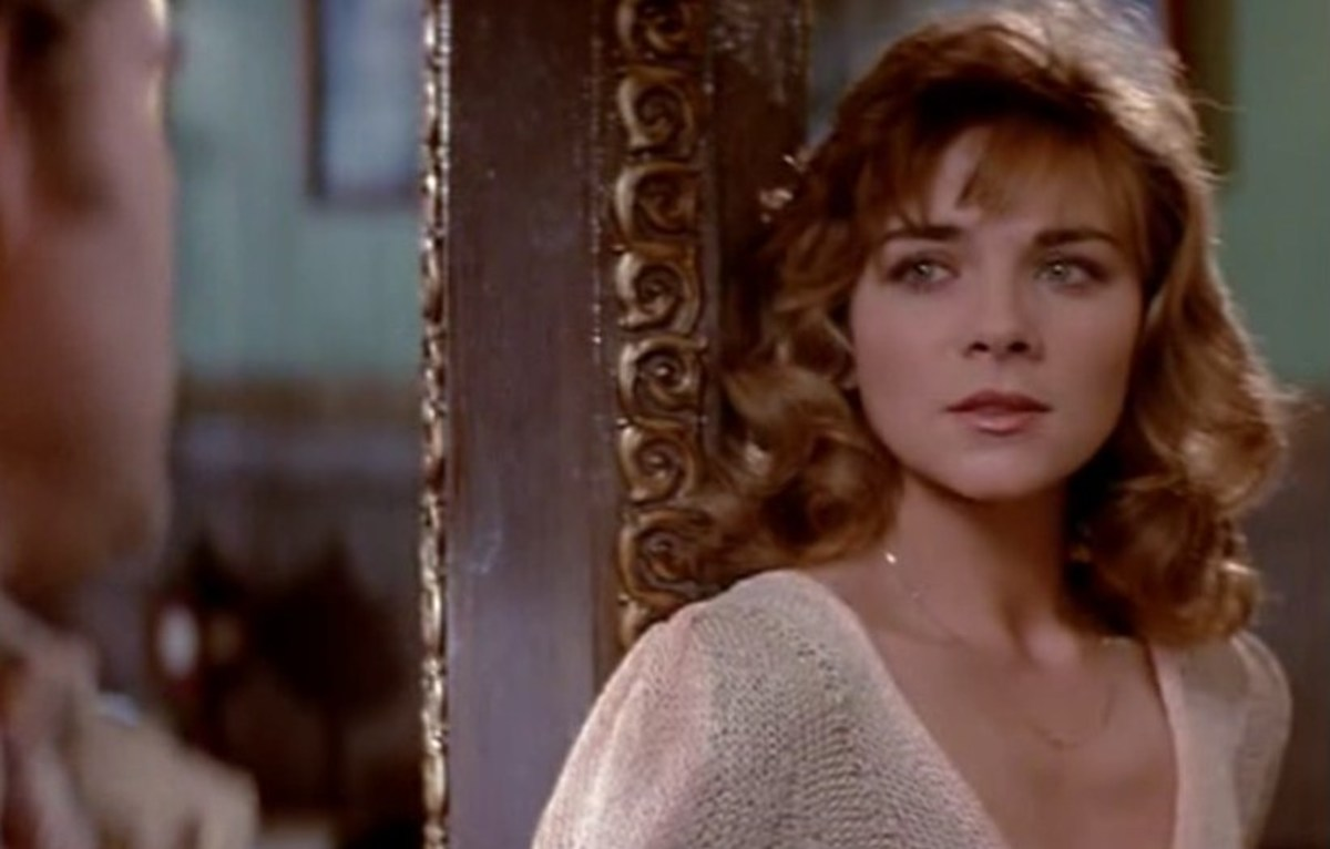 Kim Cattral as Gracie Law in Big Trouble in Little China